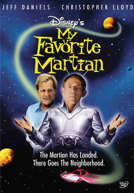 MY FAVORITE MARTIAN BY DANIELS,JEFF (DVD)
